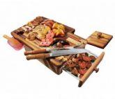 Kit Churrasco I - Master Grill + KIT box 4 livros