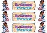 Papel Arroz Doutora Brinquedos Faixa Lateral A4 004 1un
