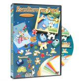 DVD Escultura em Papel - Animais