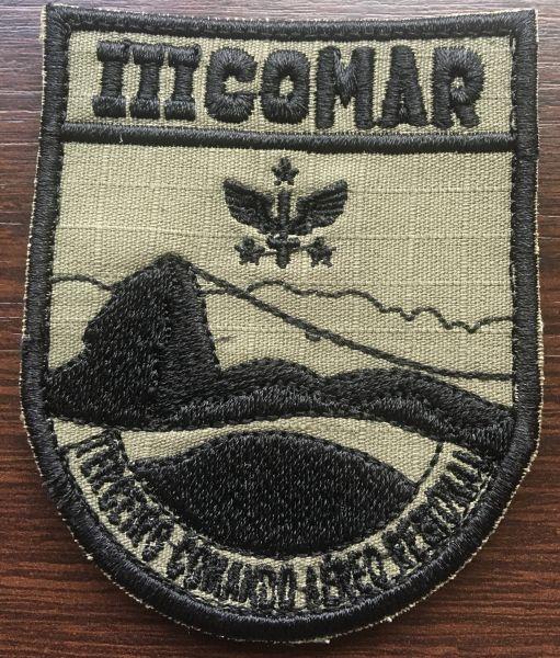 DOM Bordado III COMAR - Pontes Artigos Militares 547196acbb0