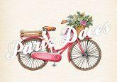 Papel Arroz Bicicletas A4 008 1un