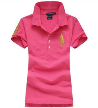 Camisa Polo Feminina Ralph Lauren - Rosa 4413fcaac63e5