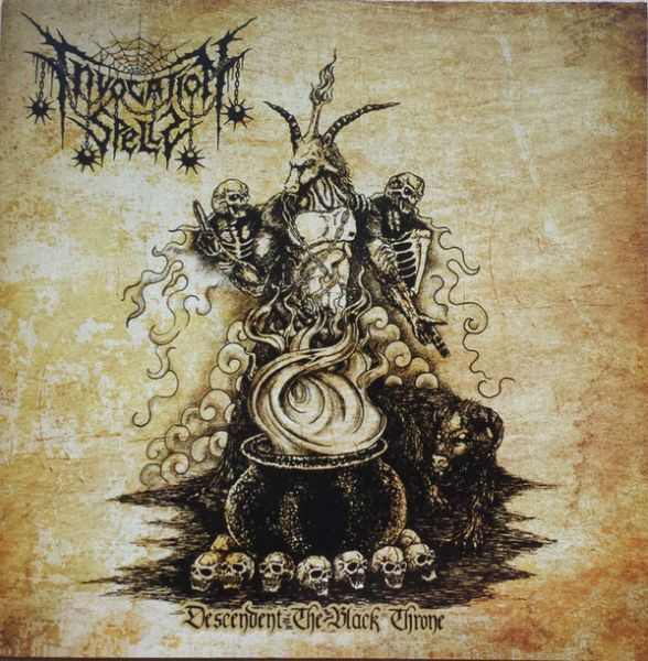 INVOCATION SPELLS - Descendent the Black Throne - CD