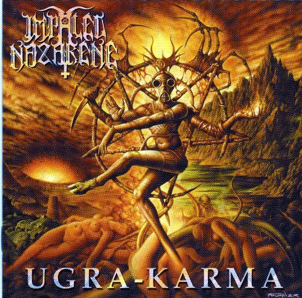 Impaled Nazarene – Ugra-Karma - CD