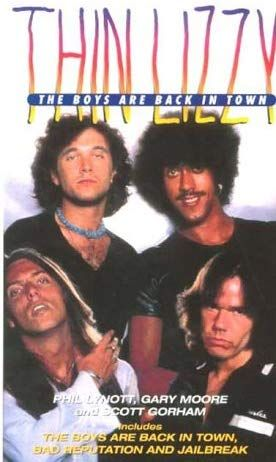 VHS - Thin Lizzy - The Boys Are Back in Town