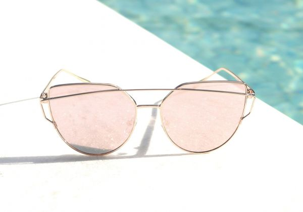 eef280f330bc9 Óculos de sol feminino Dior Love Punch Inspired - Daf Store