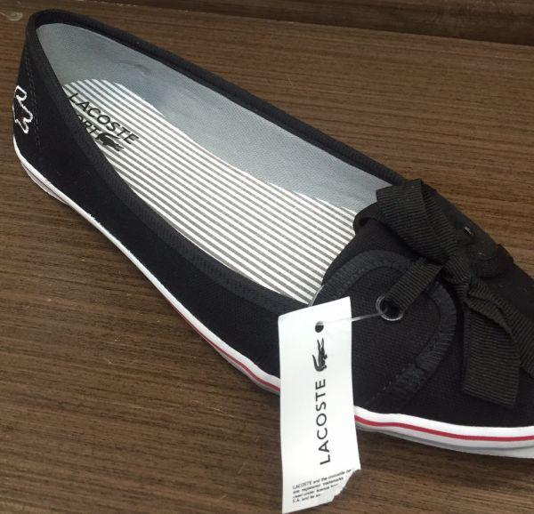 1036e0b5d496b Sapatilha Lacoste Lançamento 100% Original - Rayra Shop