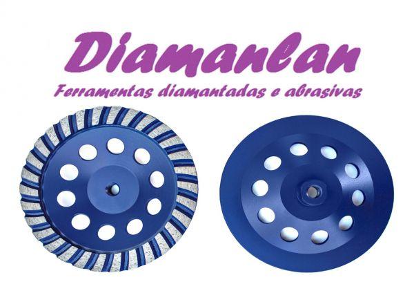 Disco Desbaste 180mm Grão 36 Rosca M14