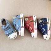 Tênis Mini Jeans com Zíper