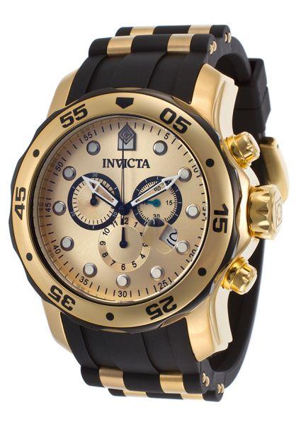134f2f5e357 Relógio Invicta Pro Driver 0073 - Ouro 18k
