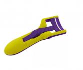 Curvador de Cílios Touch Merheje Amarelo e Violeta