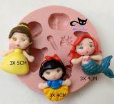 Kit Apliques mini princesas