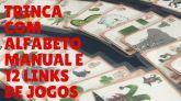 Trinca com Alfabeto Manual Ilustrado + Links de Jogos