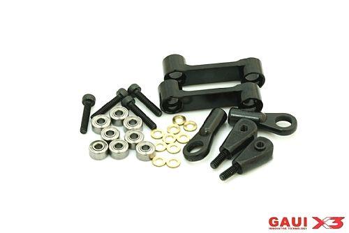 GAUI X3 CNC Washout Arm Assembly (Black anodized) COD 216107