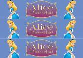 Papel Arroz Alice Faixa Lateral A4 010 1un