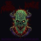 Paganfire / Nunslaughter - Obscured Visions Of Satanic Arson  - Digipack (10 Cópias)