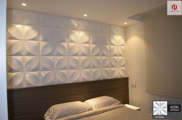 Revestimento 3D Placas Decorativas 3D Board - Para Áreas Externas e Internas - Astal