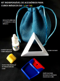 Bolsa KIT DE ACESSORIOS para Cubos Mágicos Indispensável