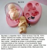 Bebê útero  6cm - ( BL 1016 )
