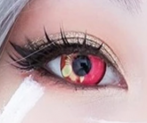 Coscon Anime Eyes - Pink - 14.5mm