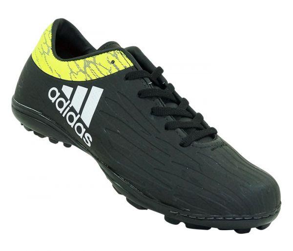 4289d083eed2b Chuteira Society Adidas X 16.1 Preto e Amarelo Limão Lançamento cod 2190