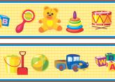 Faixa Adesiva Baby Toys - 001