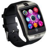 Q18 1,54 polegadas Smartwatch Telefone MTK6260 360MHz  NFC Bluetooth Camera