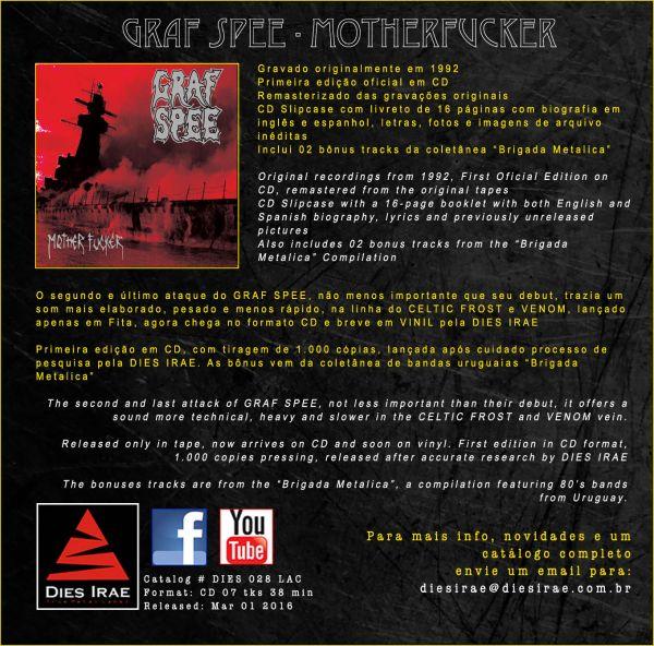 GRAF SPEE - Motherfucker (CD)