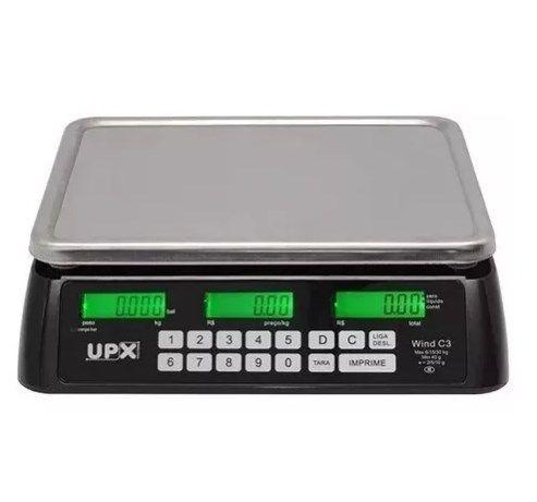 Balança Upx D3 Com Bateria Com Capacidade 32 Kg Selo Inmetro