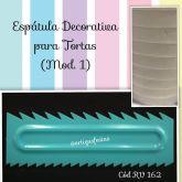 Espátula Decorativa Chantilly (Mod. 1)