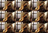 Papel Arroz Violino Faixa Lateral A4 010 1un