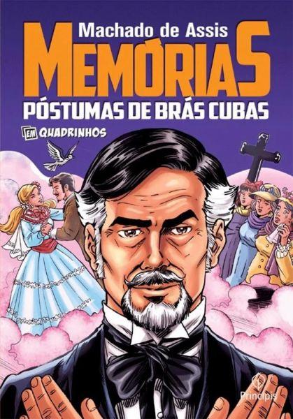 506103 - Memórias Póstumas de Brás Cubas em Quadrinhos