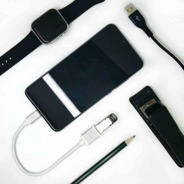 Adapatador USB C Para USB Fêmea Iwill