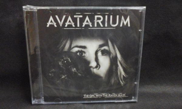 CD - Avatarium - The Girl With Their Raven Mask