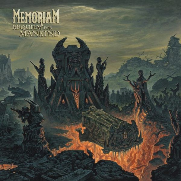 CD Memoriam - Requiem For Mankind