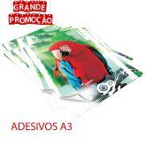 Impressão Colorida - A3 - ADESIVO 120g.