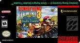 Label para Donkey Kong Country 3 - Dixie Kong's Double Trouble - Americano