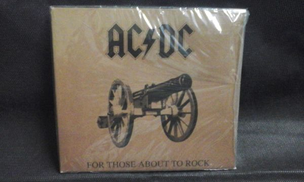 CD - AC/DC - For Those About to Rock