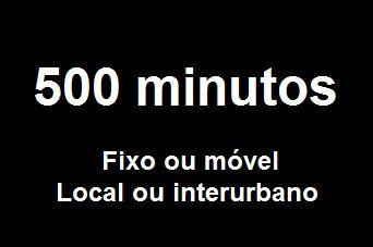 Franquia 500 minutos - Fixo e Móvel Brasil CLI (Bina)