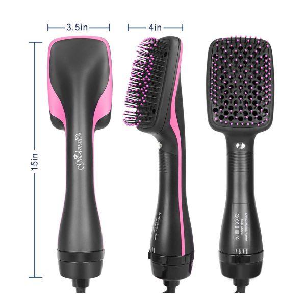 Escova Secadora  - 1000W de Potência - Rosa/Preta