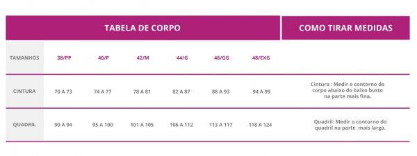 Calcinha Absorvente Violeta Cup - G - Rosê
