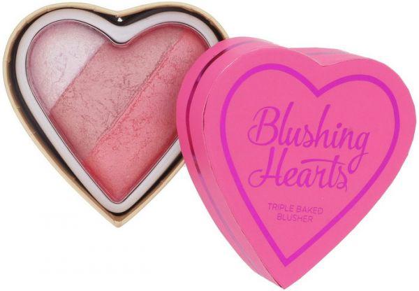 Blushing Hearts - I Heart Makeup