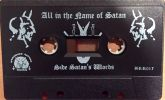 IMPURITY - All In the Name of Satan - CASSETE