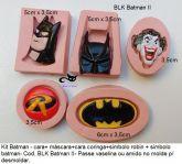Kit Batman 2- com 5 moldes