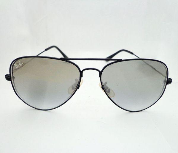 bc7b1a89a Óculos Ray Ban Aviador Prata Espelhado MOD:23044 [1ª Linha] - O ...