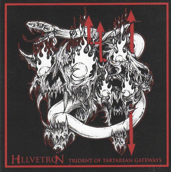 HELLVETRON- Trident of Tartarean Gateways - CD