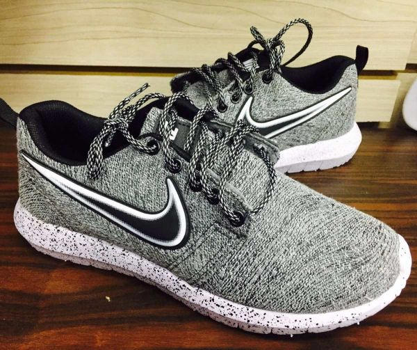 be456b3fb325d Tênis Nike Voltzz Cinza - Outlet Ser Chic