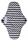 Kit Absorventes Reutilizáveis Violeta Cup - Zig-Zag