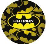 Papel Arroz Batman Redondo 006 1un