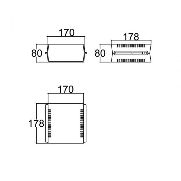 COD 1092 - Gabinete Patola PB 209 - Preto